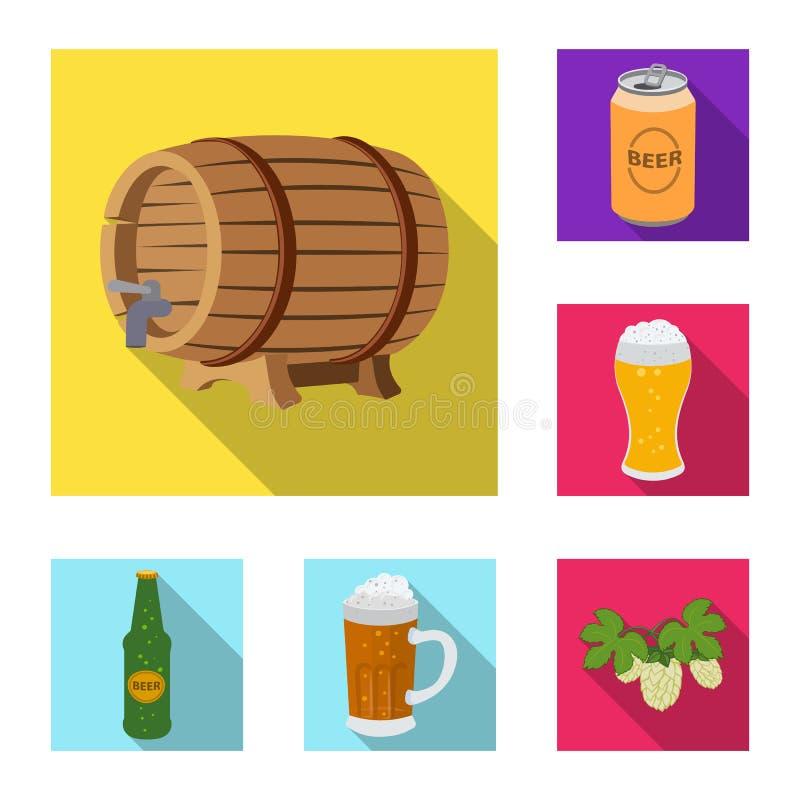 Wektorowa ilustracja pubu i baru ikona Kolekcja karczemna i wewn?trzna wektorowa ikona dla zapasu ilustracja wektor
