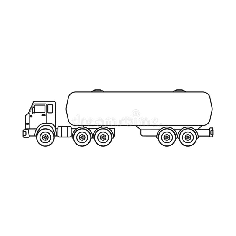 Wektorowa ilustracja ropa i gaz znak Set oleju i benzyny akcyjny symbol dla sieci royalty ilustracja