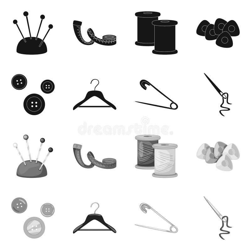Wektorowa ilustracja rzemios?o i handcraft ikon? Kolekcja rzemios?a i przemys?u akcyjna wektorowa ilustracja royalty ilustracja