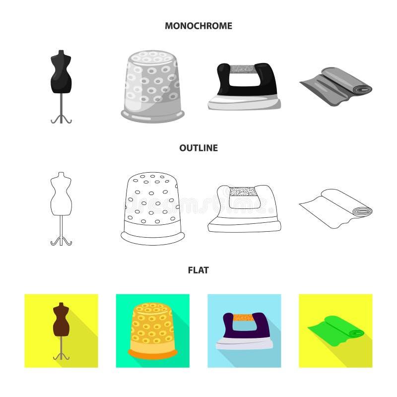 Wektorowa ilustracja rzemios?o i handcraft ikon? Kolekcja rzemios?a i przemys?u wektorowa ikona dla zapasu ilustracja wektor