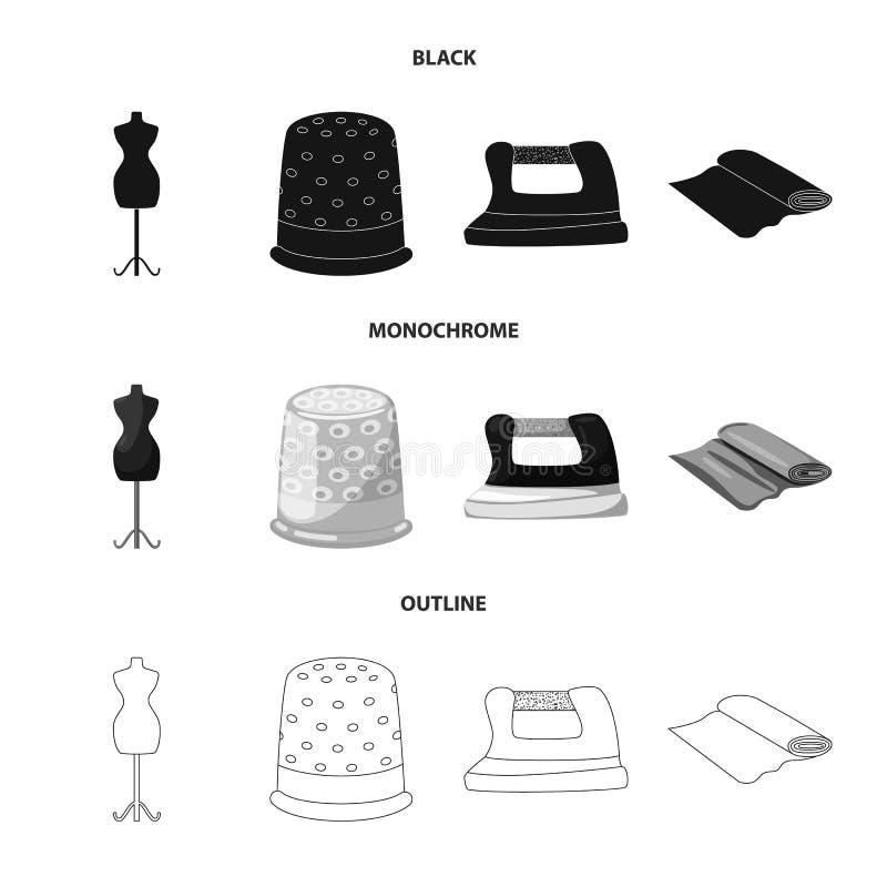 Wektorowa ilustracja rzemios?o i handcraft logo Set rzemios?a i przemys?u wektorowa ikona dla zapasu royalty ilustracja