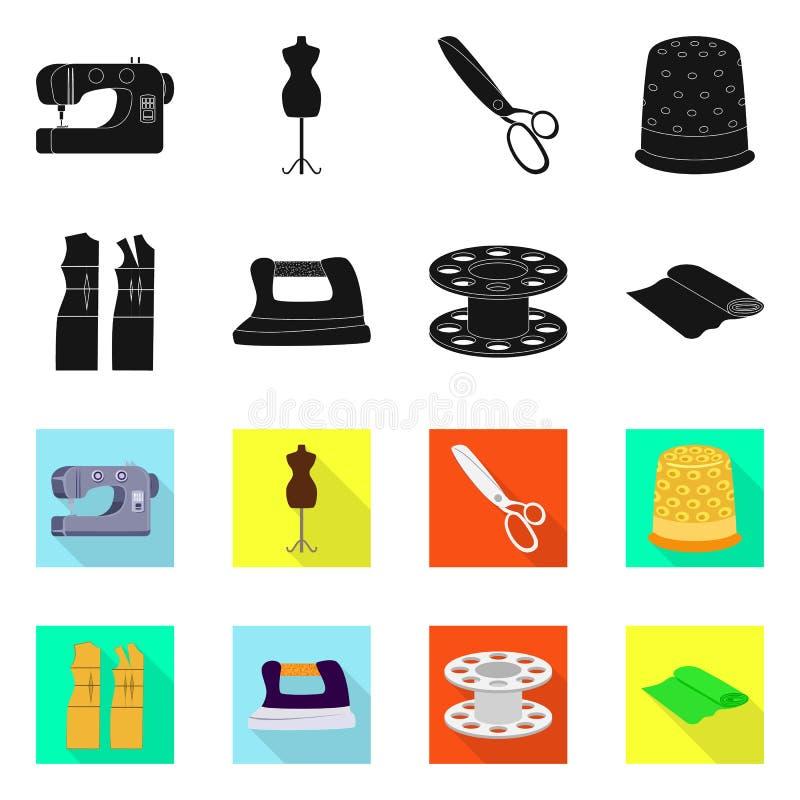 Wektorowa ilustracja rzemios?o i handcraft symbol Set rzemios?a i przemys?u wektorowa ikona dla zapasu ilustracja wektor