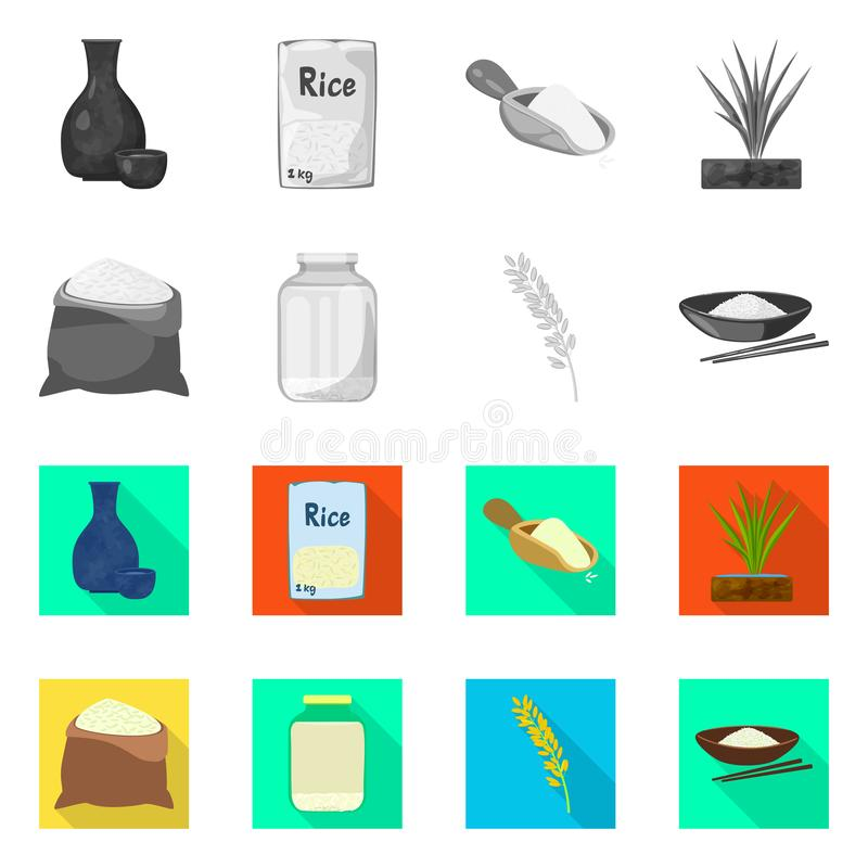 Wektorowa ilustracja uprawa i ekologiczna ikona Kolekcja uprawa i kucharstwo akcyjna wektorowa ilustracja royalty ilustracja