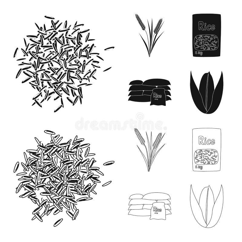 Wektorowa ilustracja uprawa i ekologiczny logo Set uprawa i kucharstwo akcyjna wektorowa ilustracja ilustracji