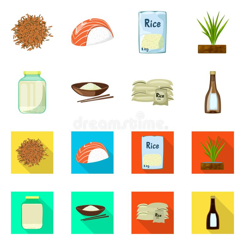 Wektorowa ilustracja uprawa i ekologiczny logo Set uprawa i kucharstwo akcyjna wektorowa ilustracja ilustracja wektor
