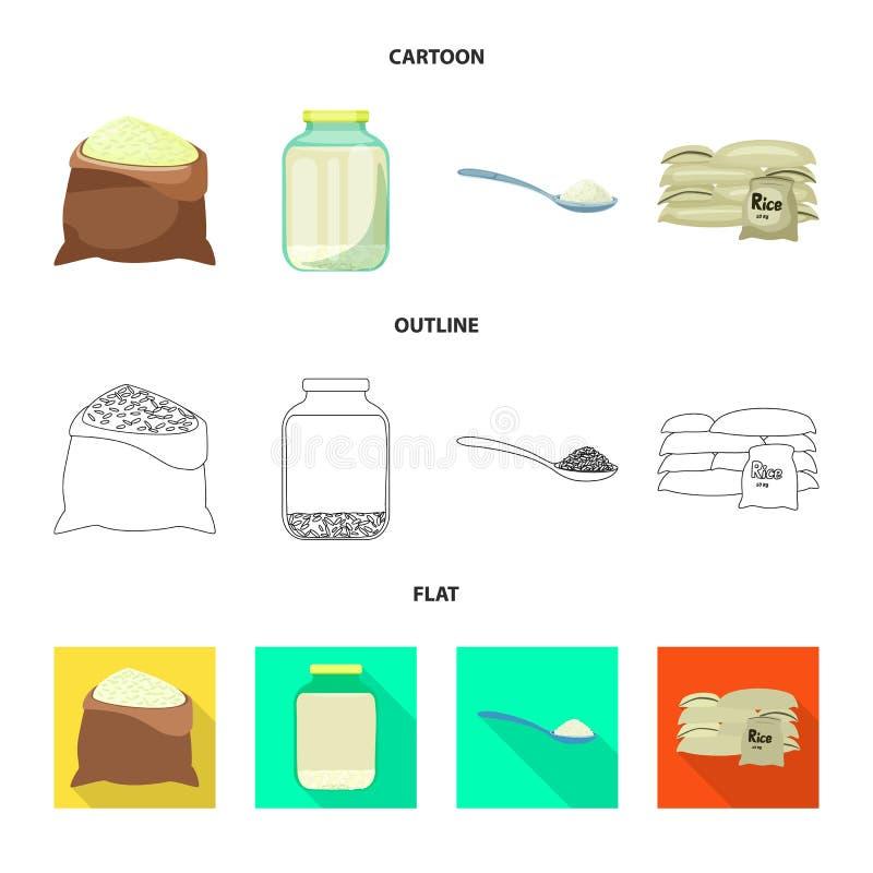 Wektorowa ilustracja uprawa i ekologiczny logo Set uprawa i kucharstwo akcyjny symbol dla sieci ilustracji