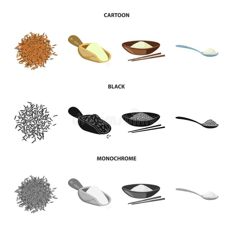 Wektorowa ilustracja uprawa i ekologiczny symbol Set uprawa i kulinarna wektorowa ikona dla zapasu royalty ilustracja