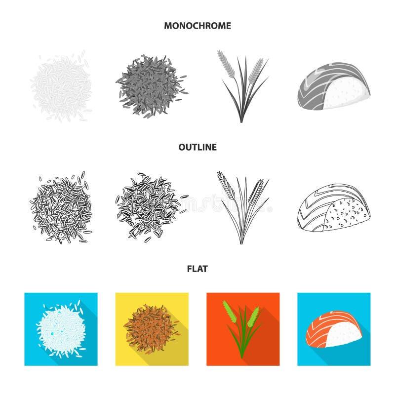 Wektorowa ilustracja uprawa i ekologiczny znak Set uprawa i kucharstwo akcyjna wektorowa ilustracja ilustracji