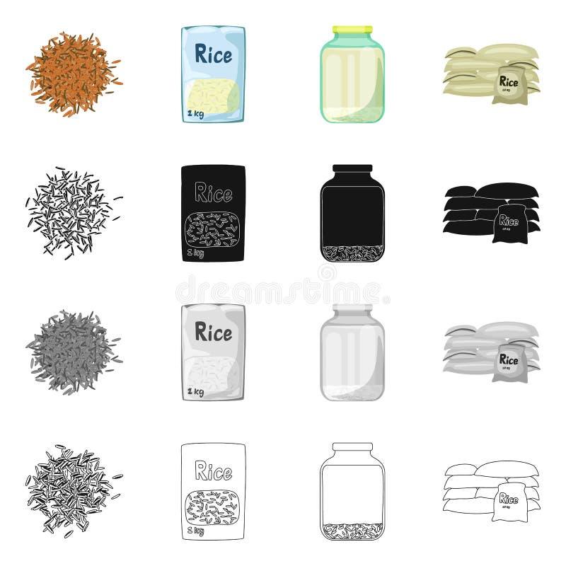Wektorowa ilustracja uprawa i ekologiczny znak Set uprawa i kucharstwo akcyjny symbol dla sieci ilustracja wektor