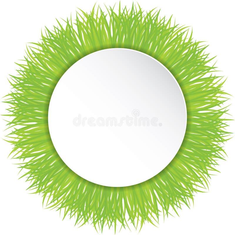 Download Wektorowa Ilustracja Zielona Trawa Ilustracja Wektor - Ilustracja złożonej z papier, wiosna: 53785414