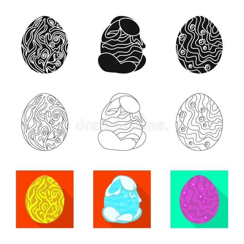 Wektorowa ilustracja zwierz?cy i prehistoryczny znak Set zwierz?ca i ?liczna akcyjna wektorowa ilustracja royalty ilustracja