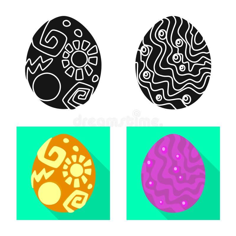 Wektorowa ilustracja zwierz?cy i prehistoryczny znak Set zwierz?cy i ?liczny akcyjny symbol dla sieci royalty ilustracja