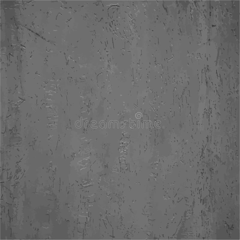 Wektorowa ilustracyjna białego i szarego aquarele słoista struktura Stary Kraft papieru tekstury tło Grunge rocznika kamienna ści ilustracji
