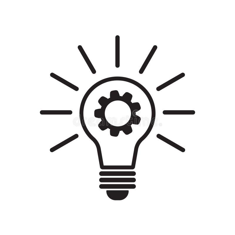 Wektorowa innowacji ikona ilustracji