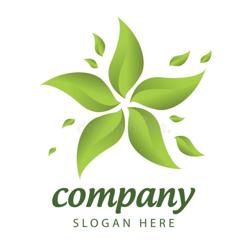 Lasowego zarządzania logo royalty ilustracja