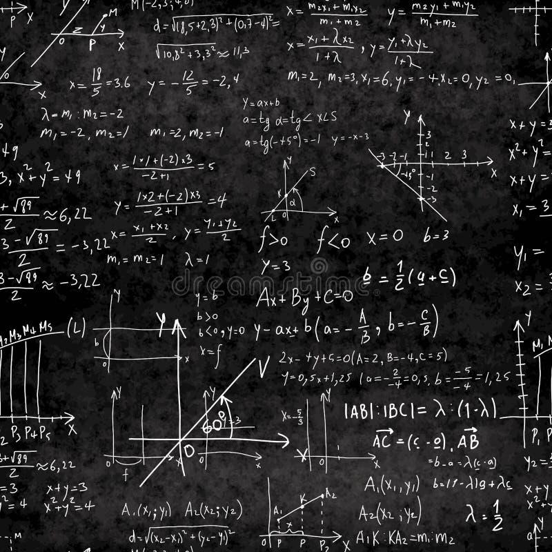 Wektorowa matematycznie bezszwowa tekstura ilustracja wektor