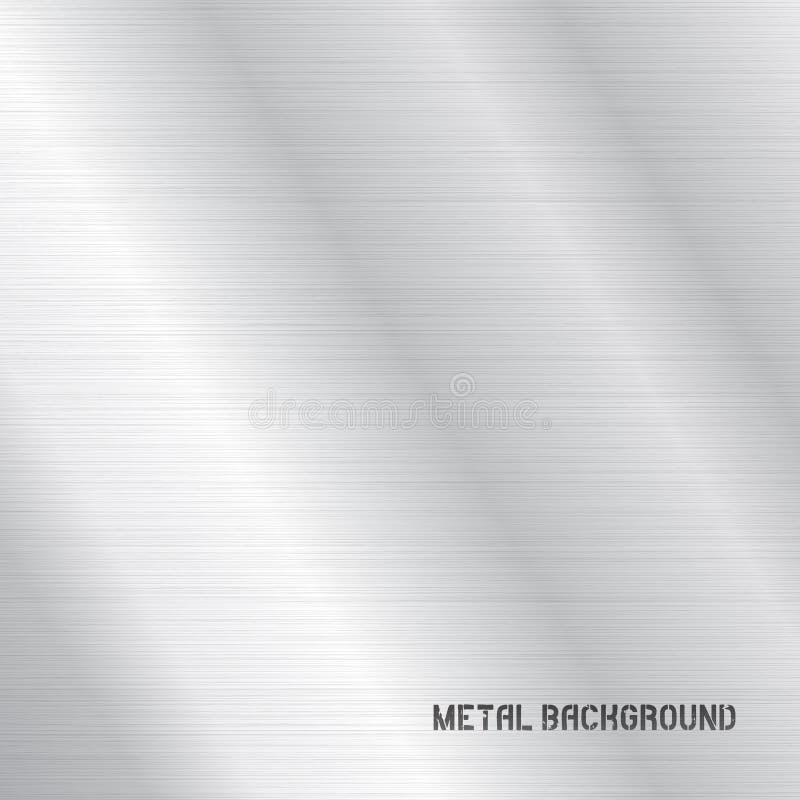 Wektorowa metalu tła tekstura obrazy royalty free