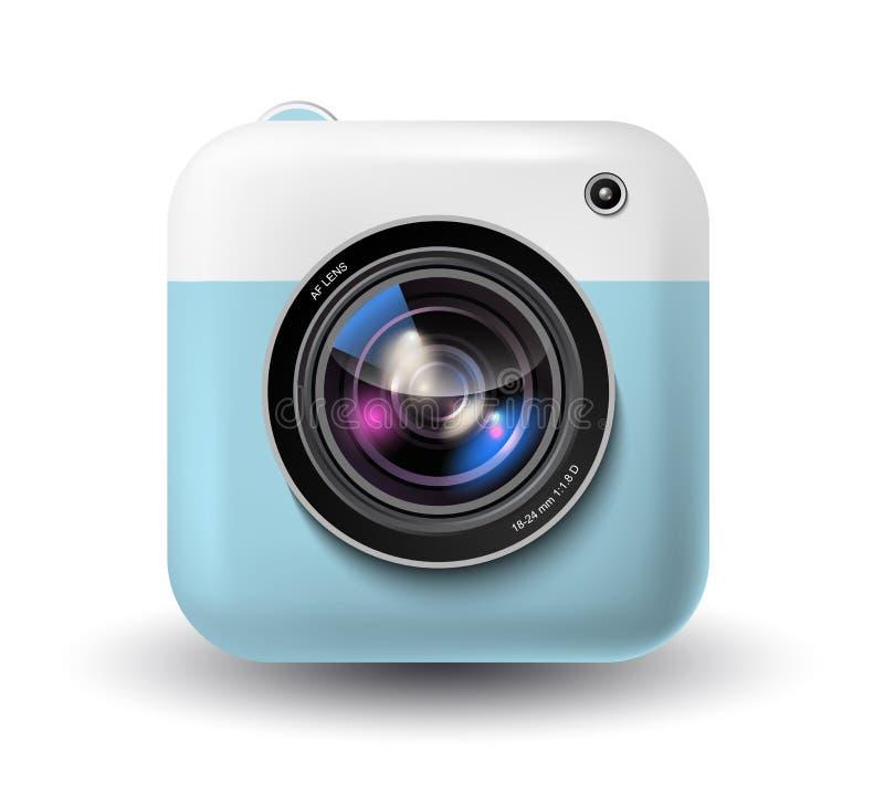 Wektorowa natychmiastowej kamery ikona royalty ilustracja