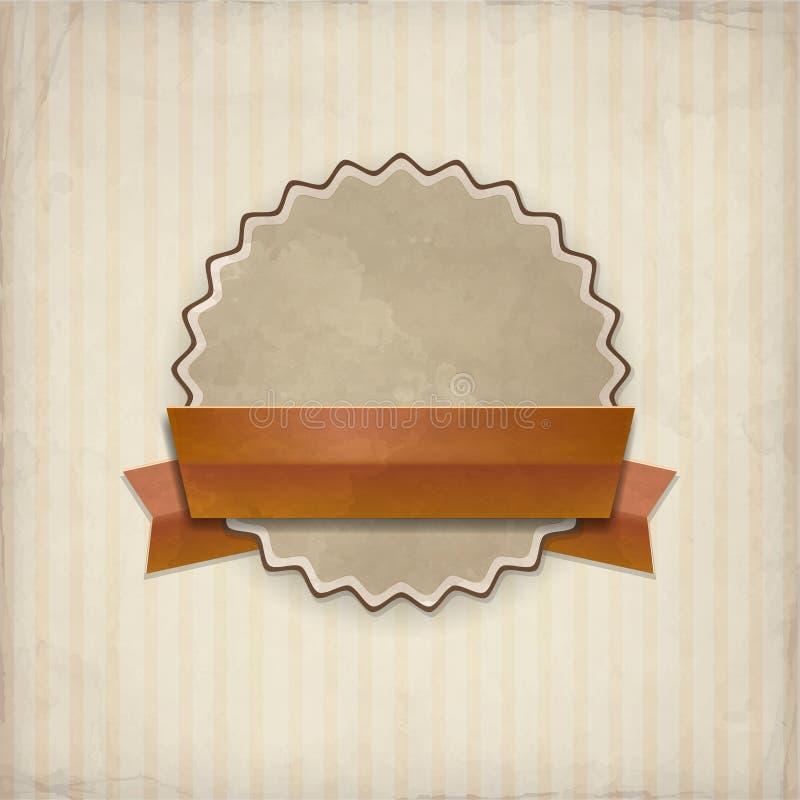 Wektorowa odznaka ilustracja wektor