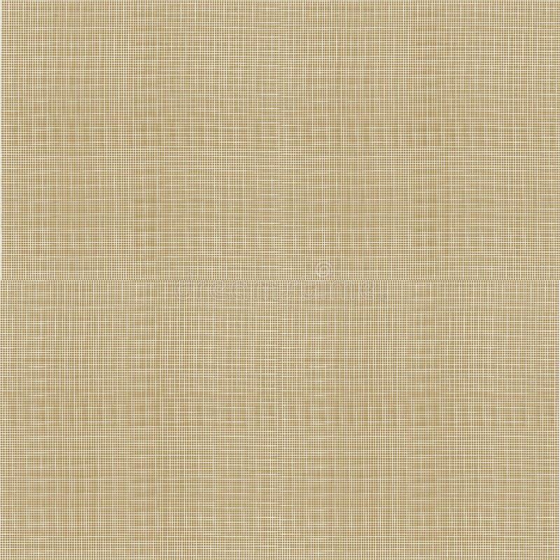 Wektorowa Parciana tekstura, Bezszwowy wzór, tło szablon ilustracja wektor
