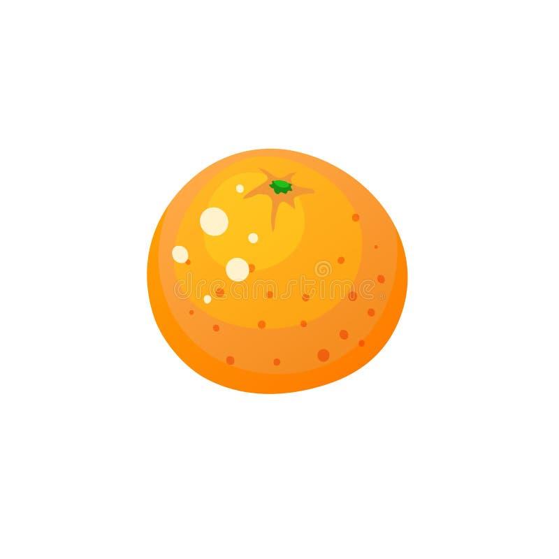 Wektorowa Pomarańczowa ikona ilustracji