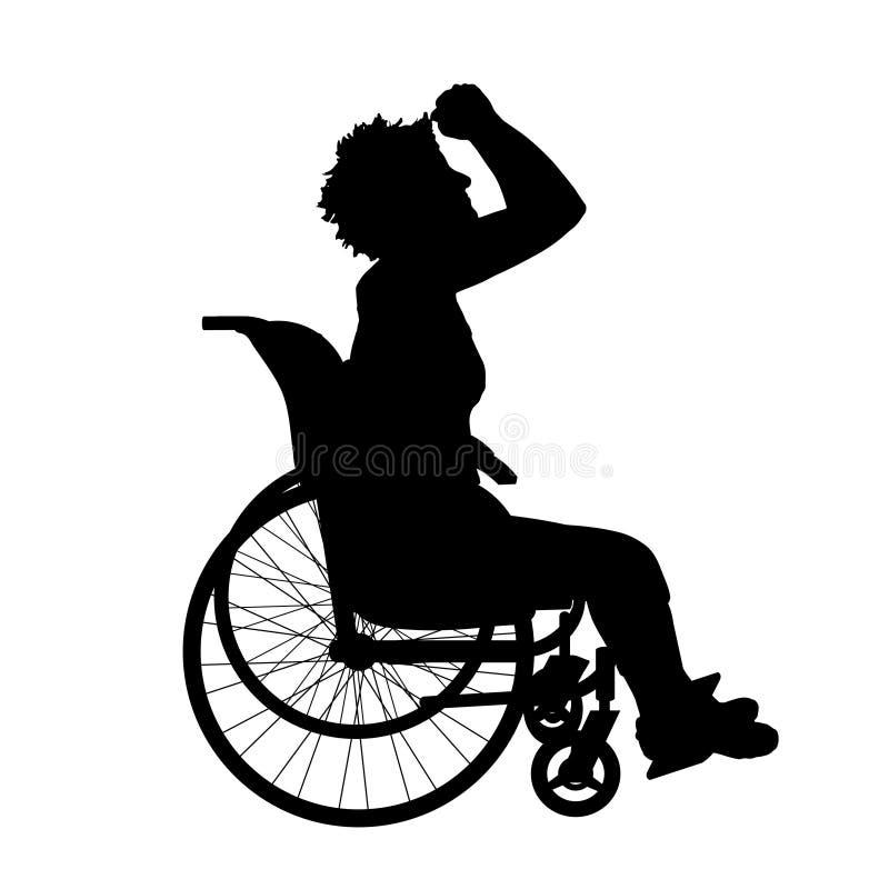 Download Wektorowa sylwetka kobieta ilustracji. Ilustracja złożonej z pray - 57661179