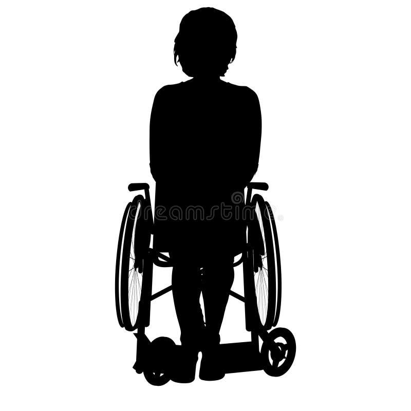 Download Wektorowa sylwetka kobieta ilustracji. Ilustracja złożonej z nadzieja - 57661292