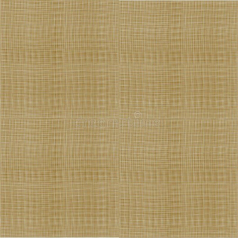 Wektorowa Szorstka Burlap tekstura, Bezszwowy wzór ilustracja wektor