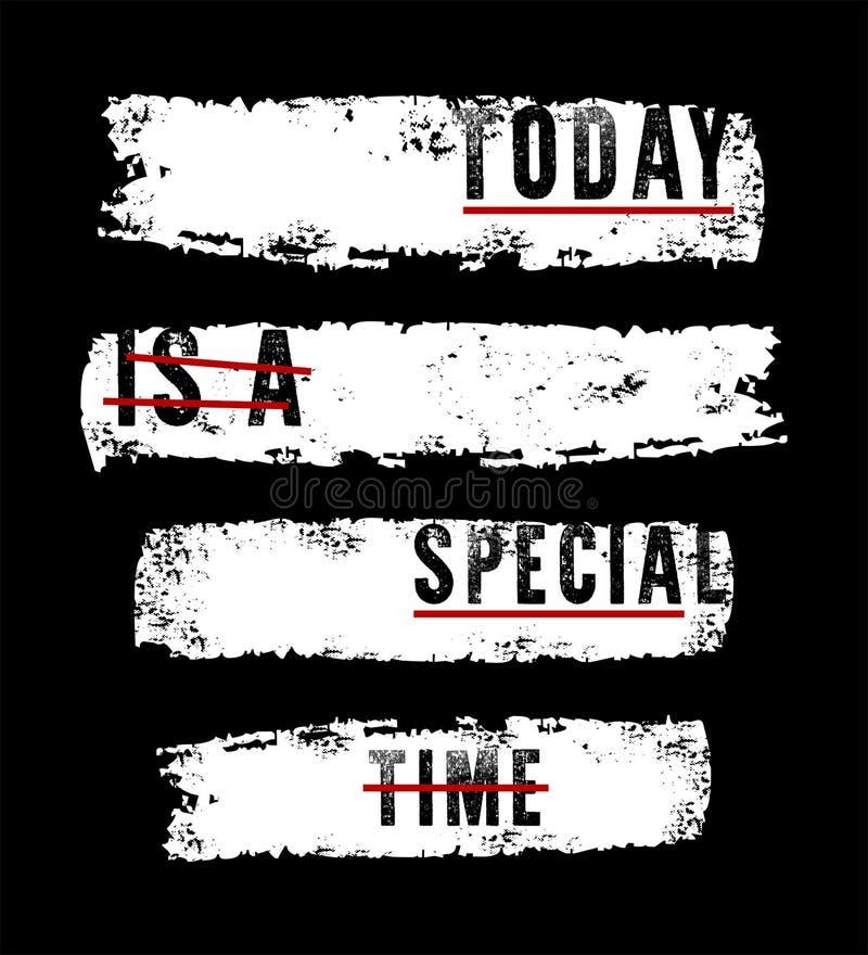 Wektorowa typografia dzisiaj jest specjalnym czasem ilustracji