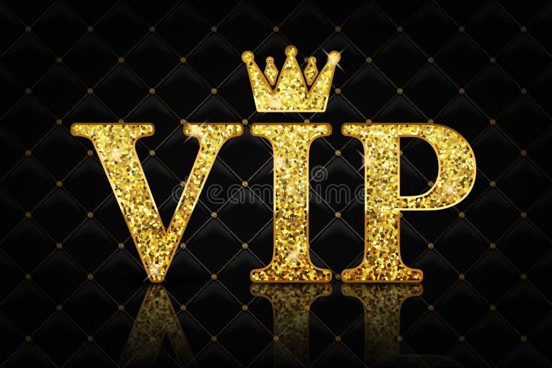Wektorowa VIP ikona fotografia stock