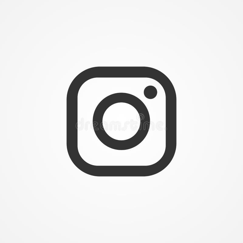 Wektorowa wizerunek ikony fotografii kamera ilustracji