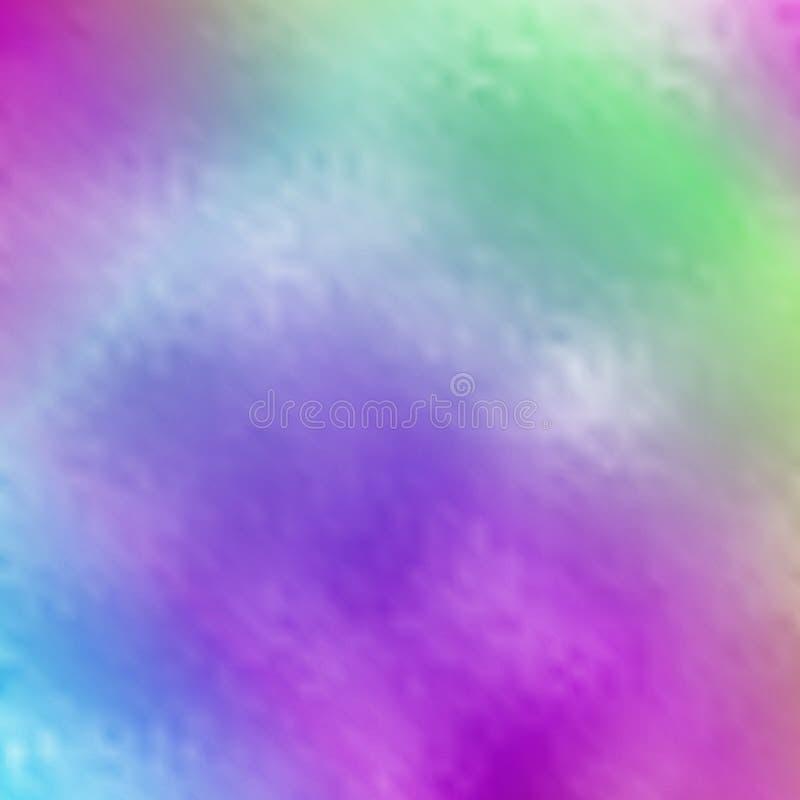 Wektorowego abstrakta zamazany holograficzny tło royalty ilustracja
