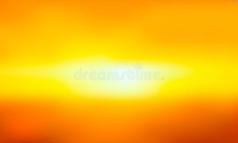 Wektorowego gradientu zamazany tło Naturalny kolor Horyzont linia ilustracji