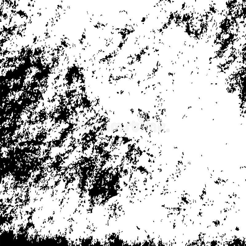 Wektorowego grunge czarny i biały miastowa tekstura royalty ilustracja