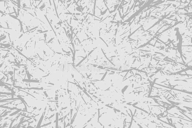 Wektorowego grunge tekstury porysowany tło ilustracja wektor