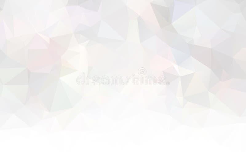 Wektorowego wieloboka trójboka Abstrakcjonistyczny nowożytny Poligonalny Geometryczny tło royalty ilustracja