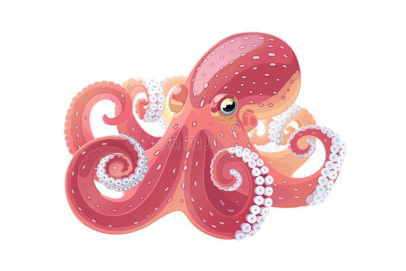 Wektorowej kreskówki klamerki zwierzęca sztuka ilustracja wektor