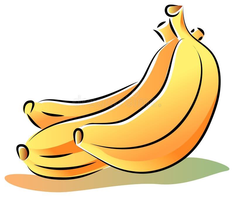 Wektorowi banany ilustracja wektor