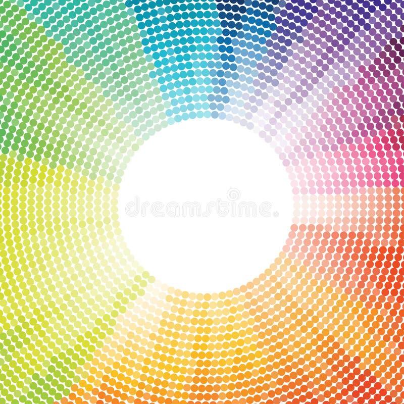 Wektorowi dyskotek światła obrazy stock