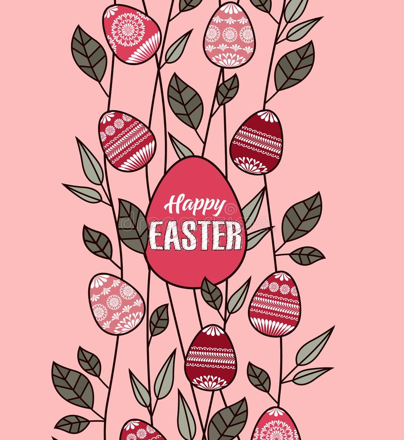 Wektorowi Easter jajka ilustracja wektor