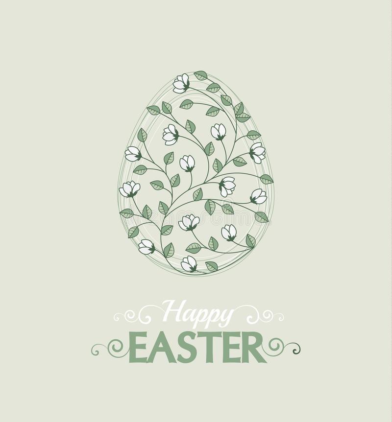 Wektorowi Easter jajka ilustracji