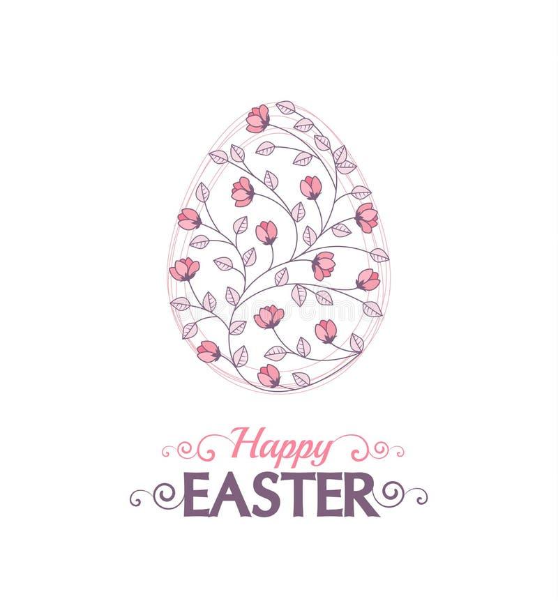 Wektorowi Easter jajka royalty ilustracja