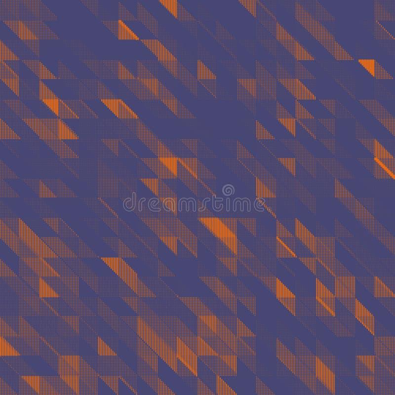 Wektorowy Abstrakcjonistyczny geometryczny tło ilustracji