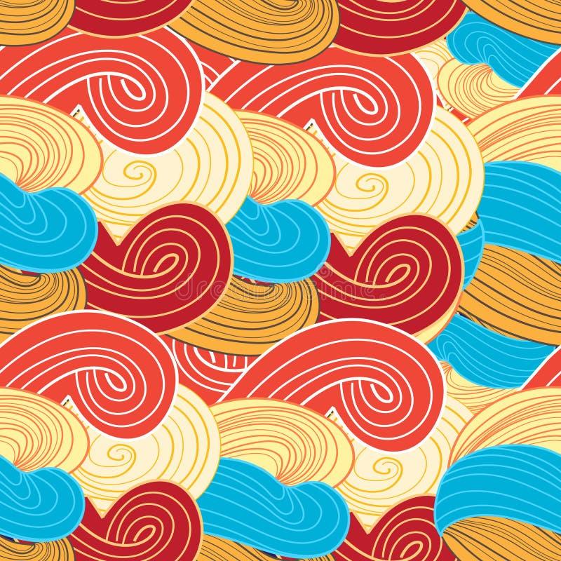Wektorowy abstrakcjonistyczny graficzny projekt ilustracja wektor