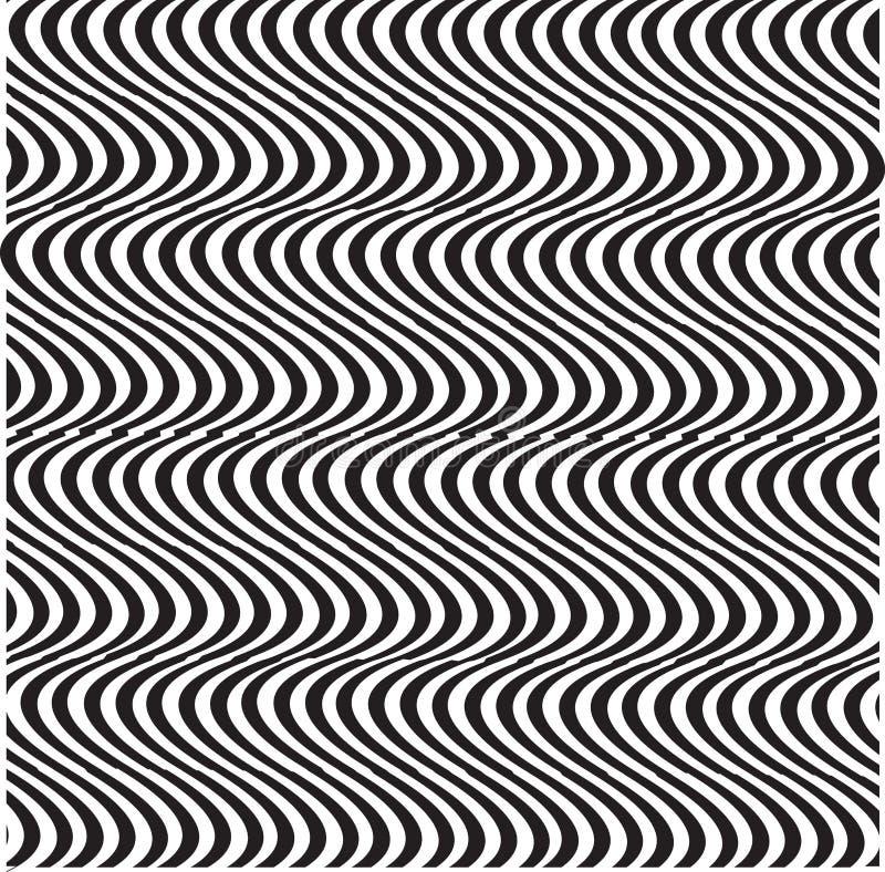Wektorowy abstrakcjonistyczny psihedelic tło wzór dla sztuk grafika projekta royalty ilustracja