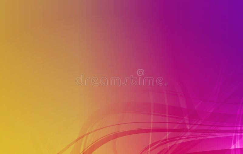 Wektorowy abstrakcjonistyczny stubarwny ocieniony falisty tło z oświetleniowymi skutkami, wektorowa ilustracja ilustracja wektor