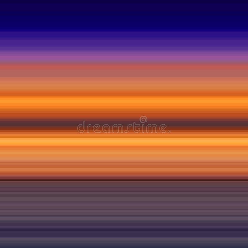 Wektorowy abstrakcjonistyczny tło z sensem lato, ilustracja wektor