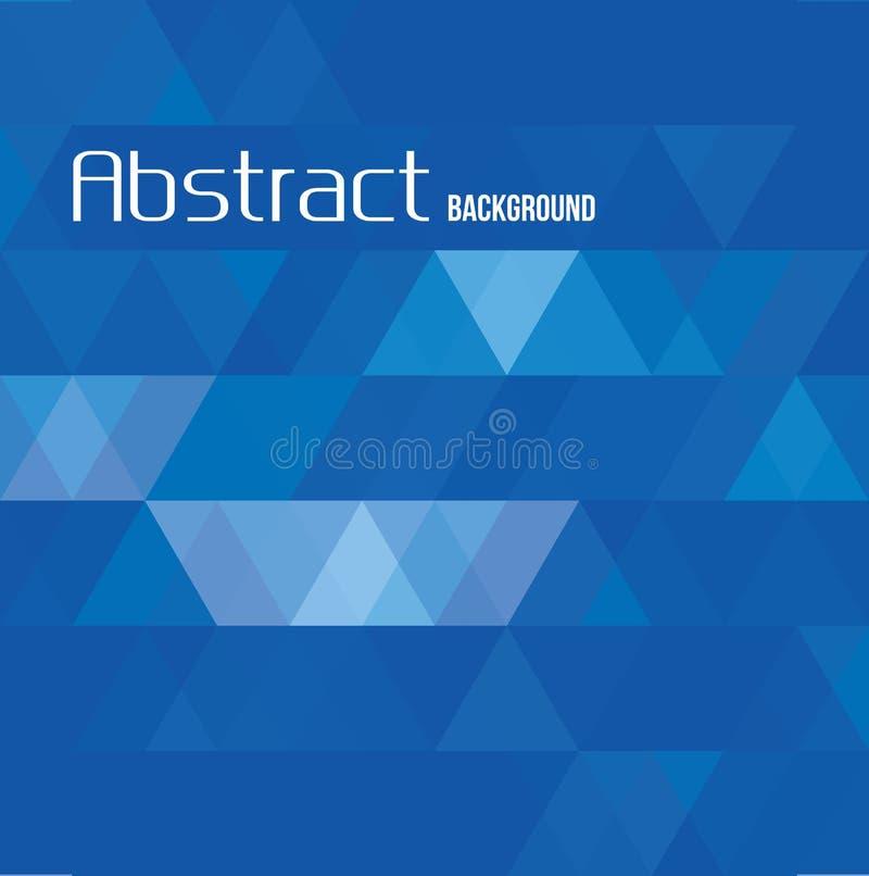 Wektorowy abstrakcjonistyczny trójboka tło ilustracji
