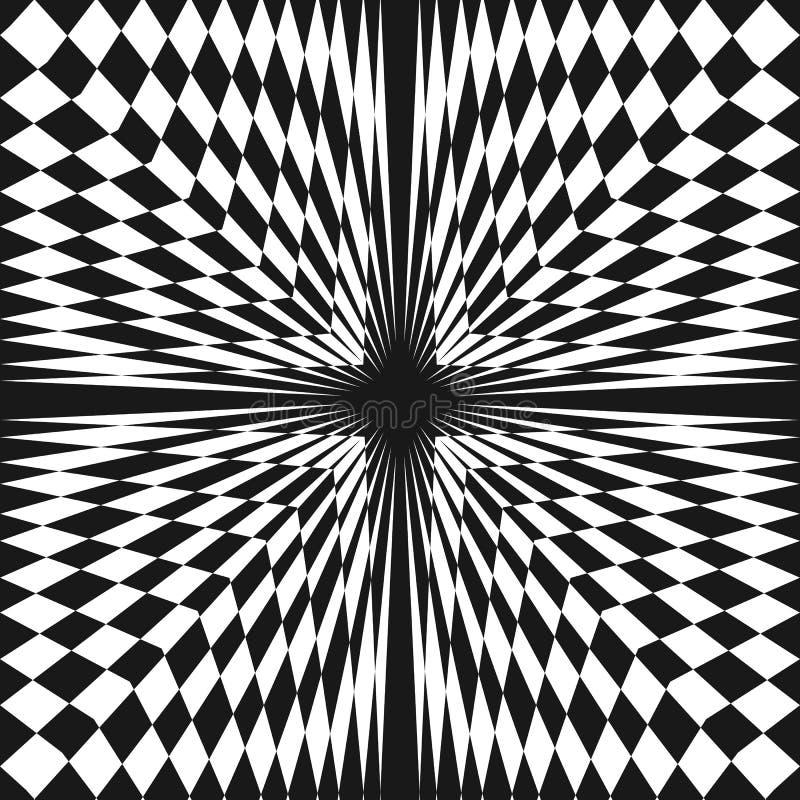 """Wektorowy abstrakcjonistyczny w kratkę bezszwowy wzór Ð-Ñ ‰ з Ñ """"кÐΜ Ñ-ÐΜÐ ½ ð'ую ilustracja wektor"""