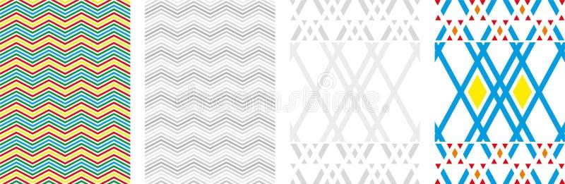 Wektorowy abstrakt boksuje t?o Nowo?ytna technologii ilustracja z kwadratow? siatk? Cyfrowej geometryczna abstrakcja z liniami i  ilustracji